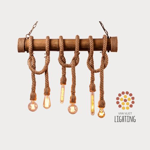 Hanglamp Met Touw.Hanglamp Van Touw En Bamboe Touwlamp